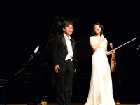 Concert for Japan in Autun, France