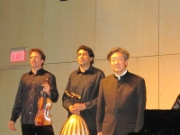 With Frank Stadler and Hossam Mahmoud, in New York, 2011